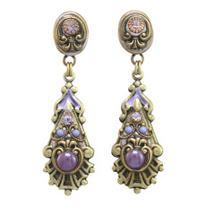 Michal Golan Michal Golan Lilac Long Post Earrings