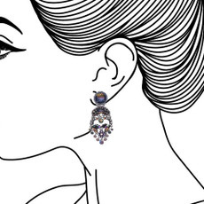 Ayala Bar Clear Skies Blue and You Earrings - New Arrival