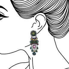Ayala Bar Summer Lawns Lucky Gem Earrings - New Arrival