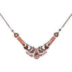 Ayala Bar Mother Earth Flash Mauve Necklace - New Arrival