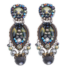 Ayala Bar Festival Night Little Black Dress Earrings - New Arrival