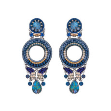 Ayala Bar Sapphire Rain Blue Moon Earrings Additional- - New Arrival