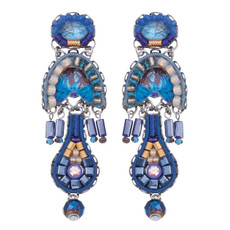 Ayala Bar Sapphire Rain Blueberry Earrings - New Arrival