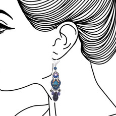 Ayala Bar Sapphire Rain French Wire Earrings - New Arrival