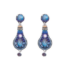 Ayala Bar Sapphire Rain Mystic Ocean Earrings - New Arrival
