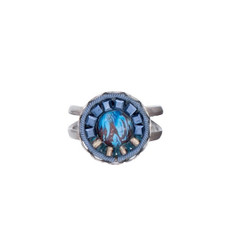 Ayala Bar Sapphire Rain Adjustable Ring - New Arrival