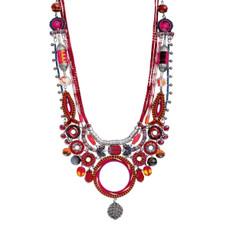 Ayala Bar Crimson Voyage Sip of Sangria Necklace - New Arrival