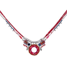 Ayala Bar Crimson Voyage Field Of Dreams Necklace - New Arrival