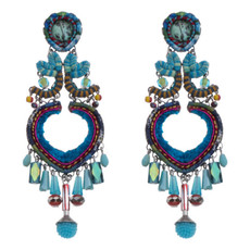Ayala Bar Heavenly Dawn Heart of Gold Earrings - New Arrival