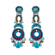 Ayala Bar Heavenly Dawn Mermaid Tail Earrings - New Arrival