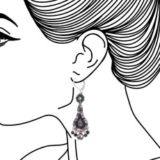 Ayala Bar Nightime Stories French Wire Earrings - New Arrival