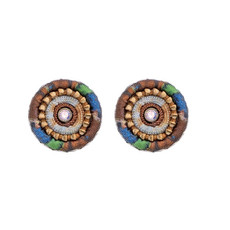 Ayala Bar Golden Slumbers Cute as a Button Earrings - New Arrival