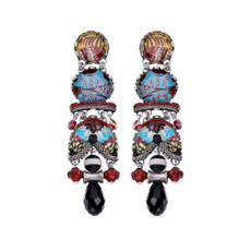 Ayala Bar Autumn Aurora Flower Bouquet Earrings - New Arrival