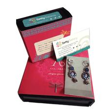 Ayala Bar Autumn Aurora Triangle Tile Earrings - New Arrival