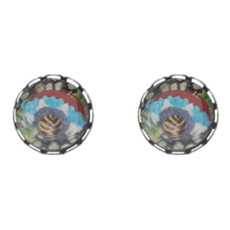 Ayala Bar Autumn Aurora Cute as a Button Earrings - New Arrival