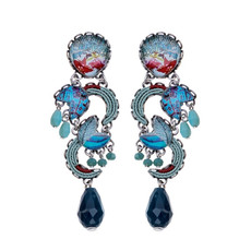 Ayala Bar Astral Light Sea Horse Earrings - New Arrival