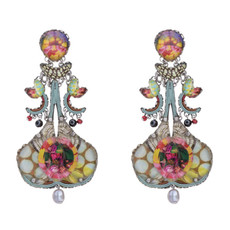 Ayala Bar Unforgettable Fire Star Burst Earrings - New Arrival