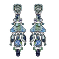 Ayala Bar Blue Planet Glacier Earrings - New Arrival