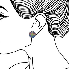Ayala Bar Imagine Cute as a Button Earrings - New Arrival