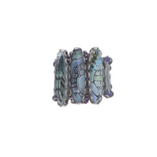 Ayala Bar Blue Planet Lavender Dreams Adjustable Ring - New Arrival