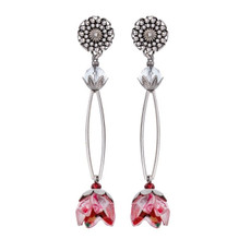 Ayala Bar Celestial Aura Precious Petals Earrings - New Arrival