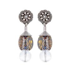 Ayala Bar Transcendent Devotion Honey Comb Earrings - New Arrival