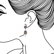 Ayala Bar Transcendent Devotion Honey Comb Earrings - New Arrival