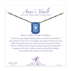 Anne Koplik Forever Blue Vault Necklace