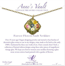 Anne Koplik Forever Flowers Vault Necklace