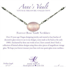 Anne Koplik Forever Rose Vault Necklace