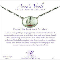 Anne Koplik Forever Sailboat Vault Necklace
