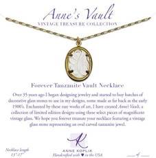 Anne Koplik Forever Tanzanite Vault Necklace