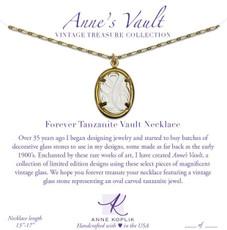 Anne Koplik Forever Tanzanite Vault Necklace