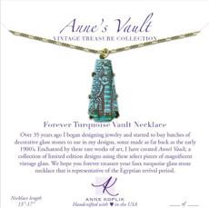 Anne Koplik Forever Turquoise Vault Necklace