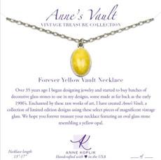 Anne Koplik Forever Yellow Vault Necklace