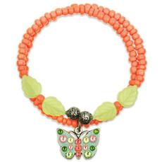 Anne Koplik Butterfly Longevity Wrap Bracelet