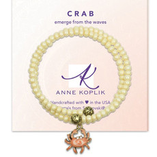Anne Koplik Crab Waves Wrap Bracelet