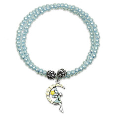 Anne Koplik Fairy Moon Wrap Bracelet