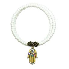 Anne Koplik Hamsa Fortune Wrap Bracelet