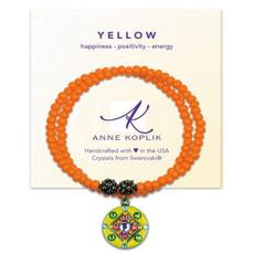 Anne Koplik Happy Yellow Wrap Bracelet