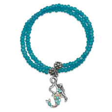 Anne Koplik Mermaid Believer Wrap Bracelet