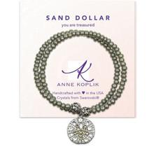 Anne Koplik Sanddollar Treasure Wrap Bracelet