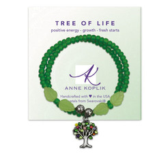 Anne Koplik Tree Of Life Wrap Bracelet