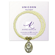 Anne Koplik Unicorn Magic Wrap Bracelet