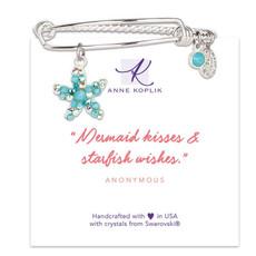 Anne Koplik Starfish Wish Charm Bangle