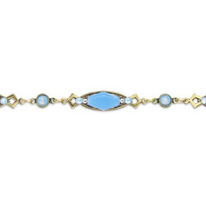 Anne Koplik Air Blue Janelle Choker