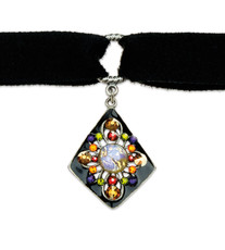 Anne Koplik Black Magic Crystal Choker