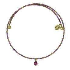 Anne Koplik Fiona Beaded Choker