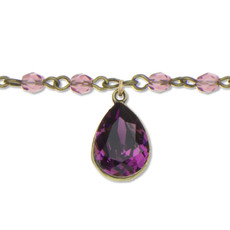 Anne Koplik Passionate Purple Sunset Choker