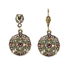 Anne Koplik Belle Epoch Style Blush Earrings